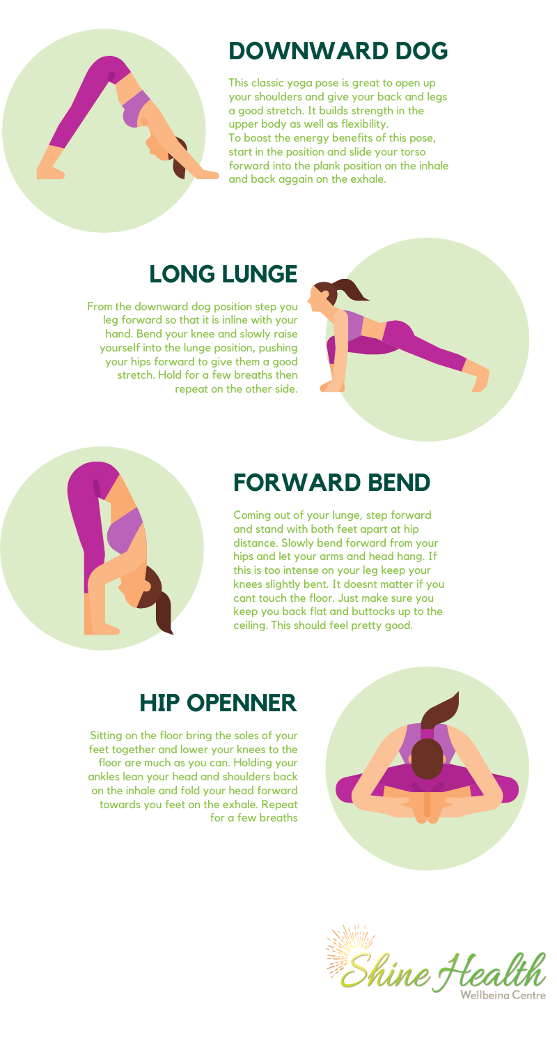 simple exercises for energy